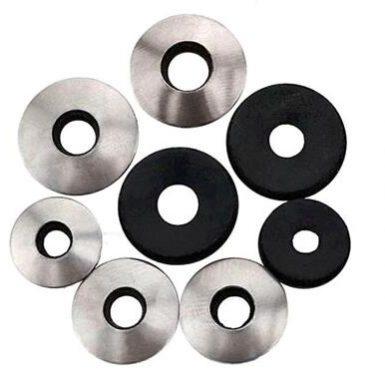 Arandela epdm de zinc de acero al carbono