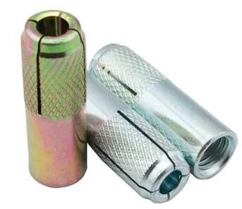 Caída moleteada galvanizada de acero al carbono en el anclaje M6 a M20