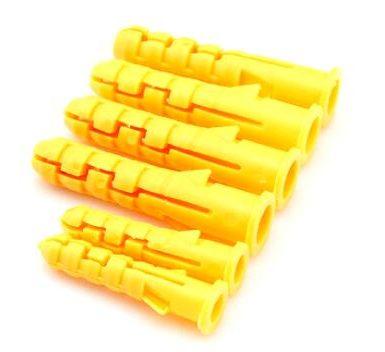 Tipo cónico Anclaje de pared de plástico Tapones de nylon