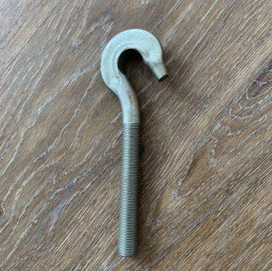 Perno de gancho con rosca de máquina