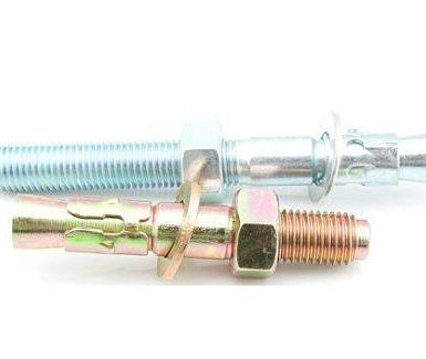 Anclajes de cuña de acero galvanizado M6 a M20