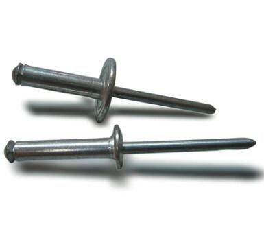 Acero de remache ciego de tipo abierto de 3.2 * 12 mm