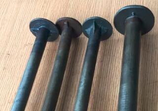Cabeza de seta perno de madera