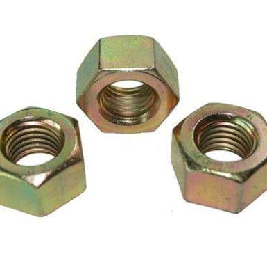 Tuerca hexagonal DIN934 cincada amarilla