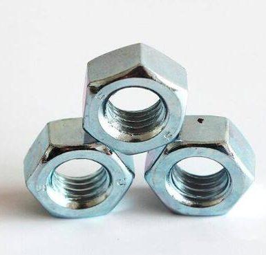 A563 Gr A tuerca hexagonal chapada en zinc DIN934